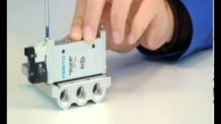 Festo-Solenoid Valve VUVG   Compressed Air System