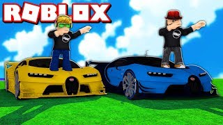 DRIVING COOL CARS IN ROBLOX!!! / BLOX4FUN