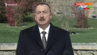Ալիևը բողոքում է՝ «Հայաստանը չի ցանկանում լքել գրաված տարածքները»