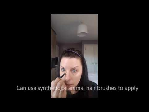 How To Apply Mineral Powder Foundation Odara Mineral Beauty (Odara Minerals) Immaculate Foundation
