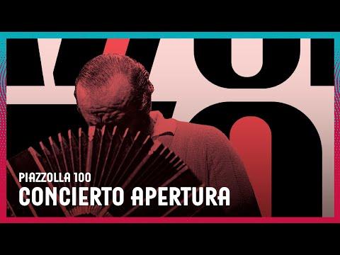 """Concierto apertura """"Piazzolla 100"""""""
