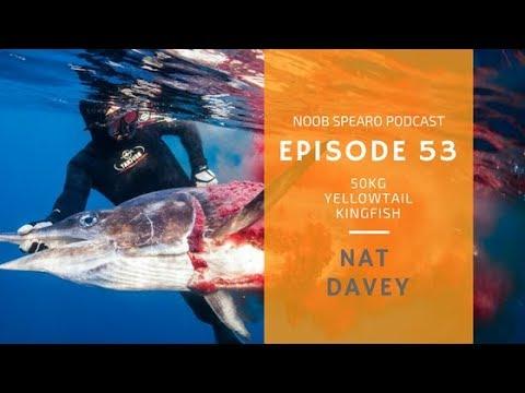 NSP:053 Nat Davey Spearfishing 50kg Yellowtail Kingfish