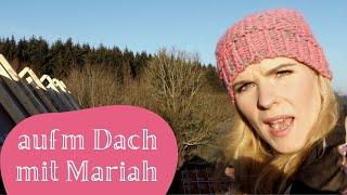 WEIHNACHTSGRUSS VOM DACH - Löcherabkleben mit Mariah Carey - NAVINAs NAGELSTUDIO