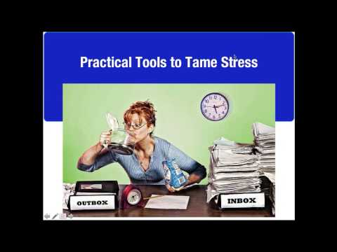 "Petra Presents ""Tools to Tame Stress"" a webinar with Dr. Heidi Hanna"