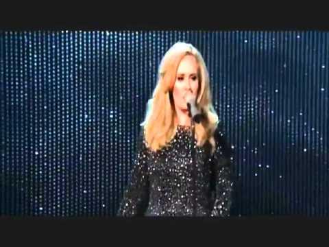 Adele - Skyfall (at Oscars 2013 HD)   YouTube