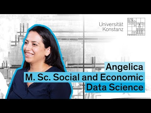 Three questions to Angelica, M.Sc. Social and Economic Data Science