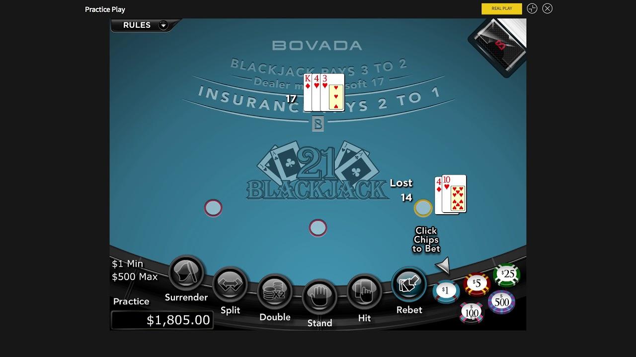 Bovado Blackjack