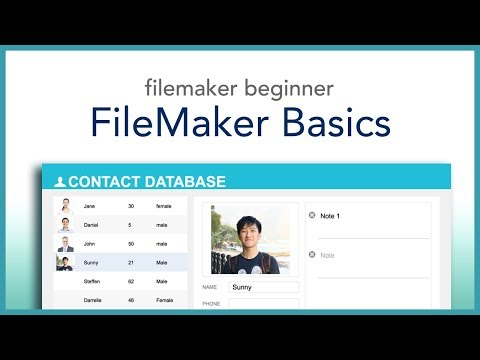 FileMaker Beginner Basics (2018)