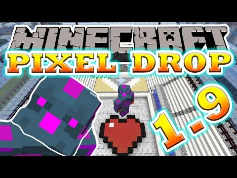 Minecraft | GUESS THAT PICTURE! (WHAT IS IT?) | Pixel Drop Mini-Game