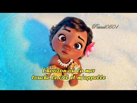 VAIANA (Moana) Le bleu lumière + paroles/Lyrics HD