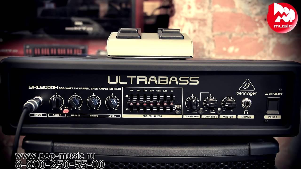 схема behringer ultrabass model bxl900