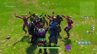 orange justice jubilation pre game lobby group dance fortnite battle royale moments - orange justice dance fortnite battle royale