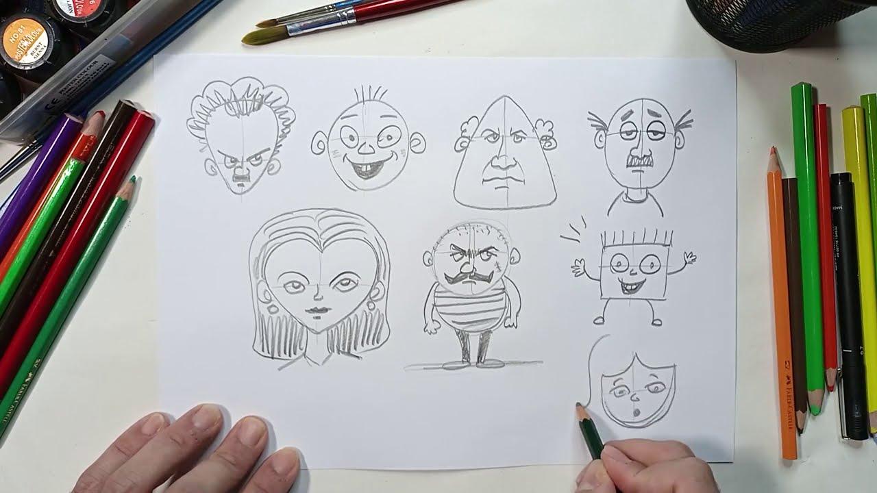 تحدي إننا هانخليك ترسم كاريكاتير رغم إن عمرك ما رسمت قبل كده: تقبل التحدي؟ شاذلي أرت Shazly Art
