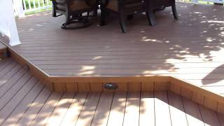 Timbertech Xlm Desert Bronze Deck And Concrete Patio In West Des Moines