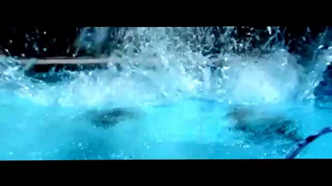 Pool Splash Cannonball cannon ball splashes (slow motion) - youtube