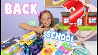 CO TO ZA PLECAK!! BACK TO SCHOOL