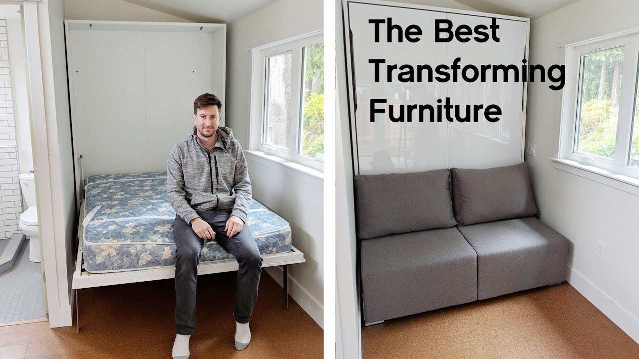 The Best Transforming Furniture Space Savers Expand Furniture Youtube