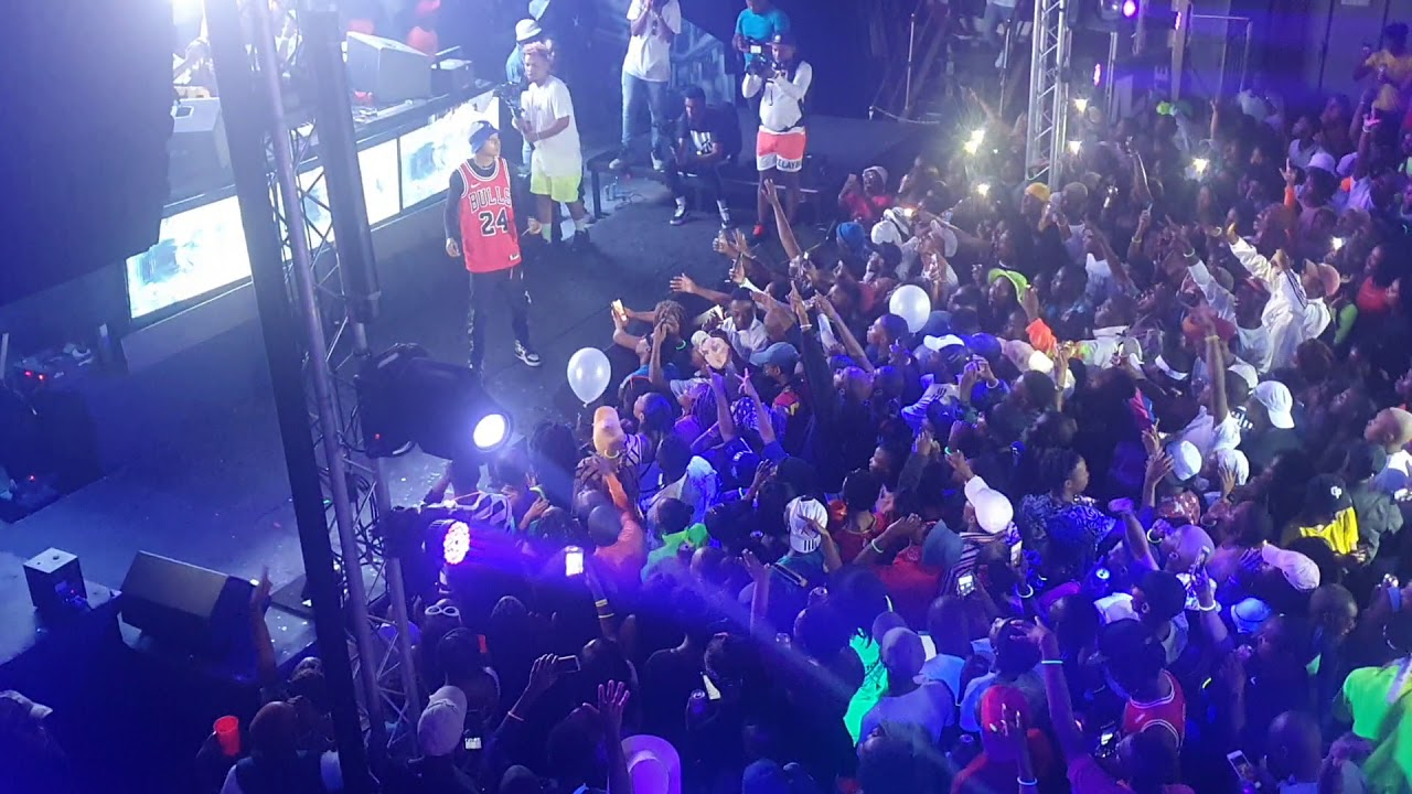 Download A-Reece - My Own live at DJ Maphorisa Neon party Porryland Zone 6