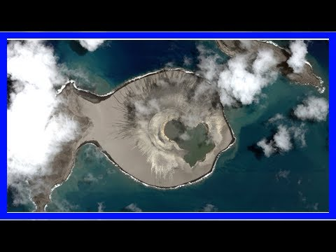 New pacific island could resemble ancient martian volcanoes
