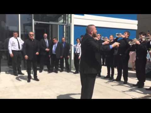 Tom Hanks arrives at Wright State University