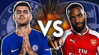 Lacazette IN, Morata OUT! | Chelsea v Arsenal Ultimate XI