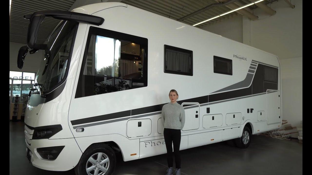 KLEIN + HANDLICH: Wohnmobil Phönix Topliner 9 BML 9 Iveco Daily. Für  alle EU Campingplätze