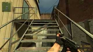 Counter Strike Source Gameplay:  Assault HD