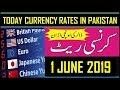1 June 2019 Currency Rate In Pakistan   Dollar, Euro, Pound, Riyal Rates