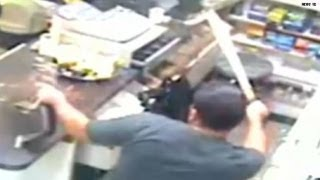 Caught on tape: When store clerks attack!