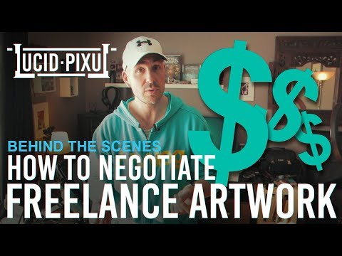 How to NEGOTIATE SALARY for FREELANCE ARTISTS (2018) - BTS Episode 10