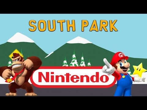 Nintendo References In South Park