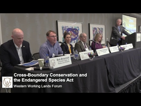 Cross-Boundary Conservation and the Endangered Species Act