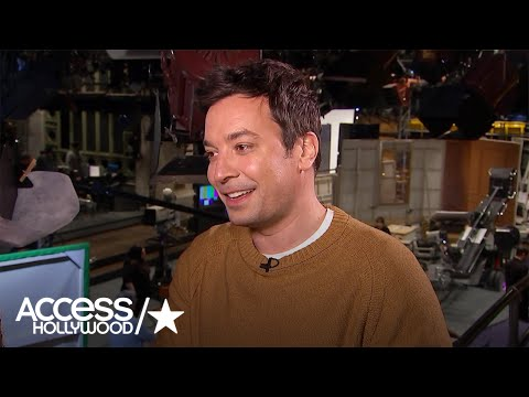 Jimmy Fallon On Returning To Host 'SNL' & Musical Guest Harry Styles | Access Hollywood