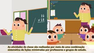 (Portuguese subtitles)Japanese-style eucation -One day of elementary school students in Japan-