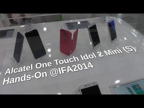 Alcatel One Touch Idol 2 Mini (S) auf der IFA2014 - www.technoviel.de