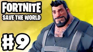 Fortnite: Save the World - Gameplay Walkthrough Part 9 - MYTHIC Megabase Kyle! (PC)