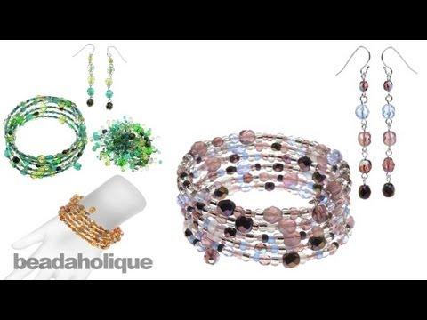 Instructions for Making the Mandy Earring and Bracelet Set Kit