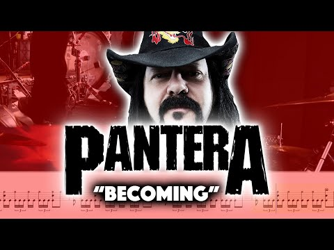 How To Play Pantera Becoming Double Bass