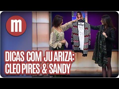 Camila Queiroz e Agatha Moreira - Moda com Juliana Ariza - Mulheres  (25/05/16)