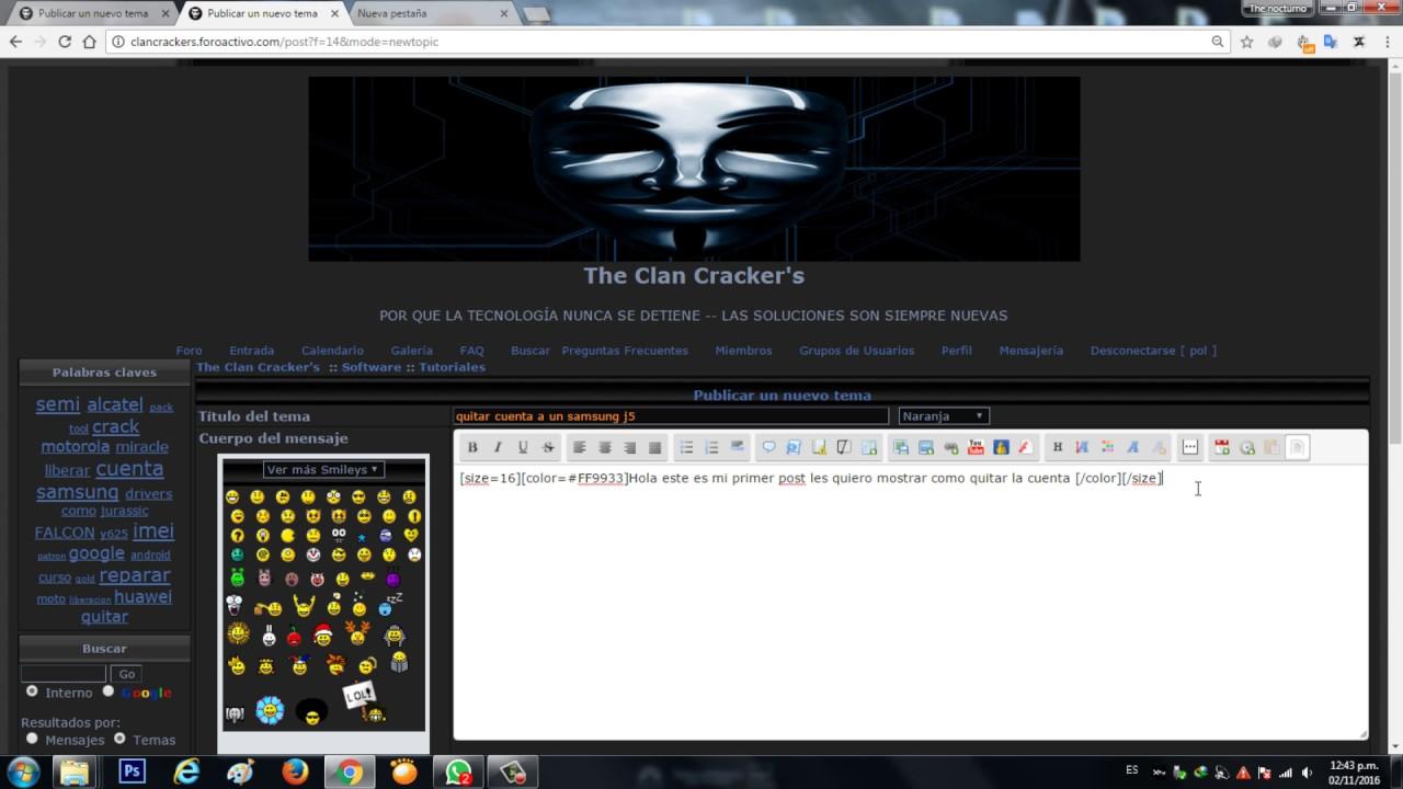 Clan Crackers - Entrada