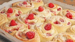 Raspberry Cheesecake Rolls RecipeEpisode 1246