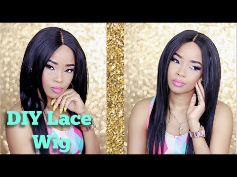 DIY Lace Wig | Using Dia Hair by Diamond Beauty Supply