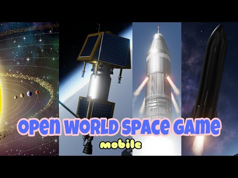 TOP 5 OPEN WORLD SPACE GAMES ON MOBILE PHONE