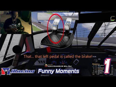 Make iRacing Funny Moments - Best and Worst of Rookie Street Stock and PickUp Cup Images