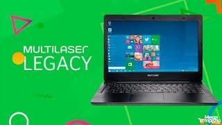 Notebook Legacy Intel Dual Core 2.48 Ghz Preto Multilaser - PC201 | Mega Empório