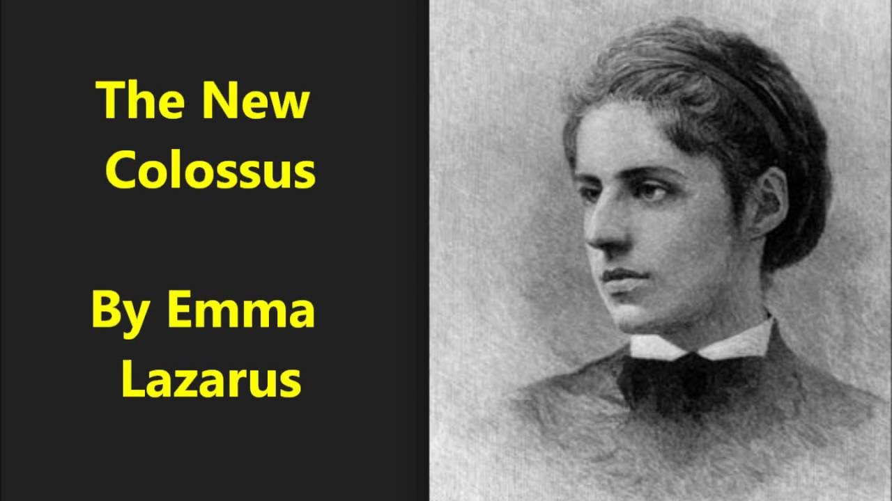 "the meaning of the statue of liberty in emma lazarus poem the new colossus A presidential adviser and a reporter this week debated the significance of emma lazarus's poem ""the new colossus,"" which is on display at the statue of liberty."