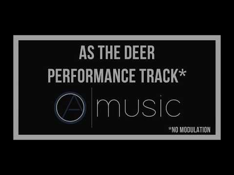 As The Deer (No Modulation) - Backing Track, Performance Track, Karaoke - Okantan Ayeh