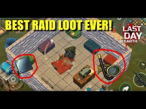 BEST RAID LOOT EVER!! SNORKEL MASK! (Last Day On Earth: Survival)