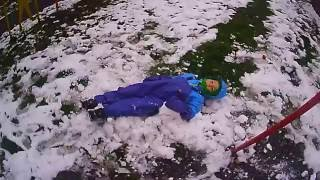 видео Детские непромокаемые штаны