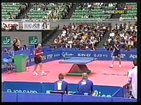 PHILIPPE SAIVE PERSSON JORGEN OSAKA 2001 world champ semi